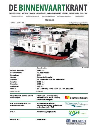 2001.ODESSA-Binnenvaartkrant2001